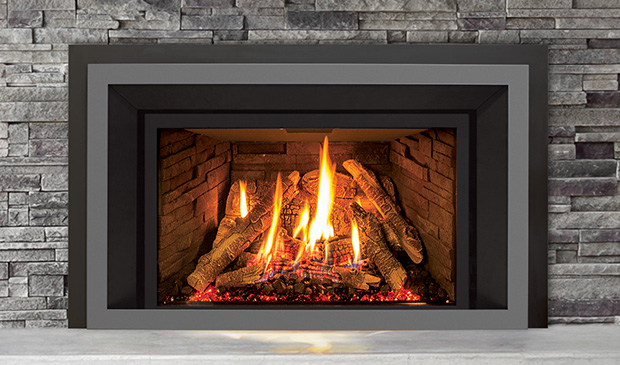 The EX35 Gas Fireplace Insert